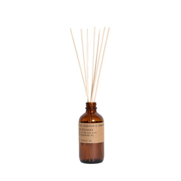 P.F. Candle Co. - Teakwood & Tobacco Reed Diffuser