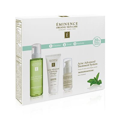 Eminence Organic Skin Care - Acne Advanced 3-Step Treatment System