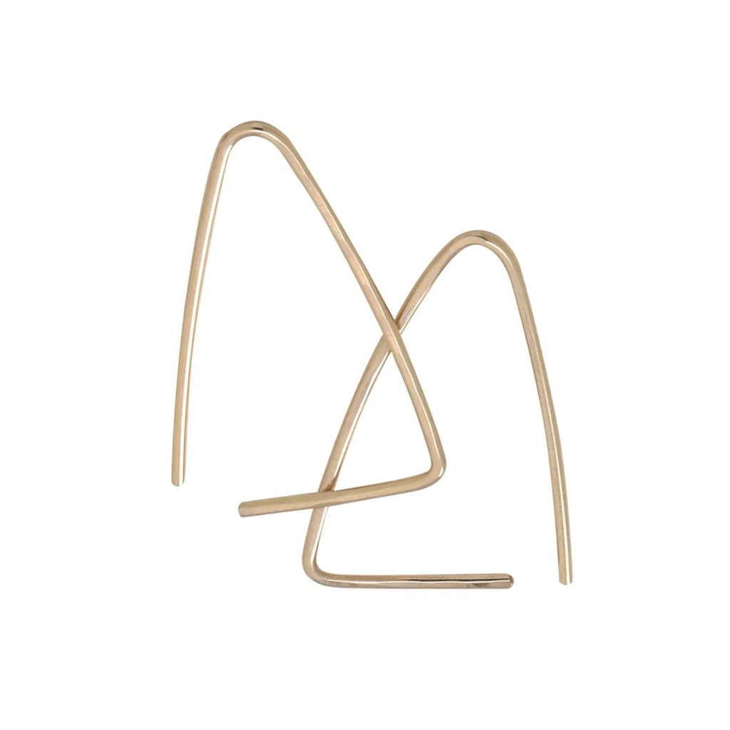 Raegen Knight - Threader Triangle Hoops