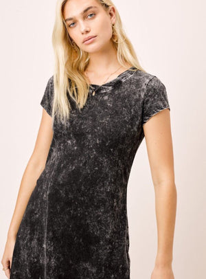 Sabina Snow Wash T Shirt Dress