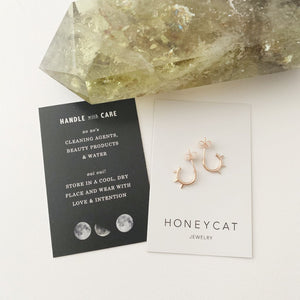 HoneyCat Spike Hoops