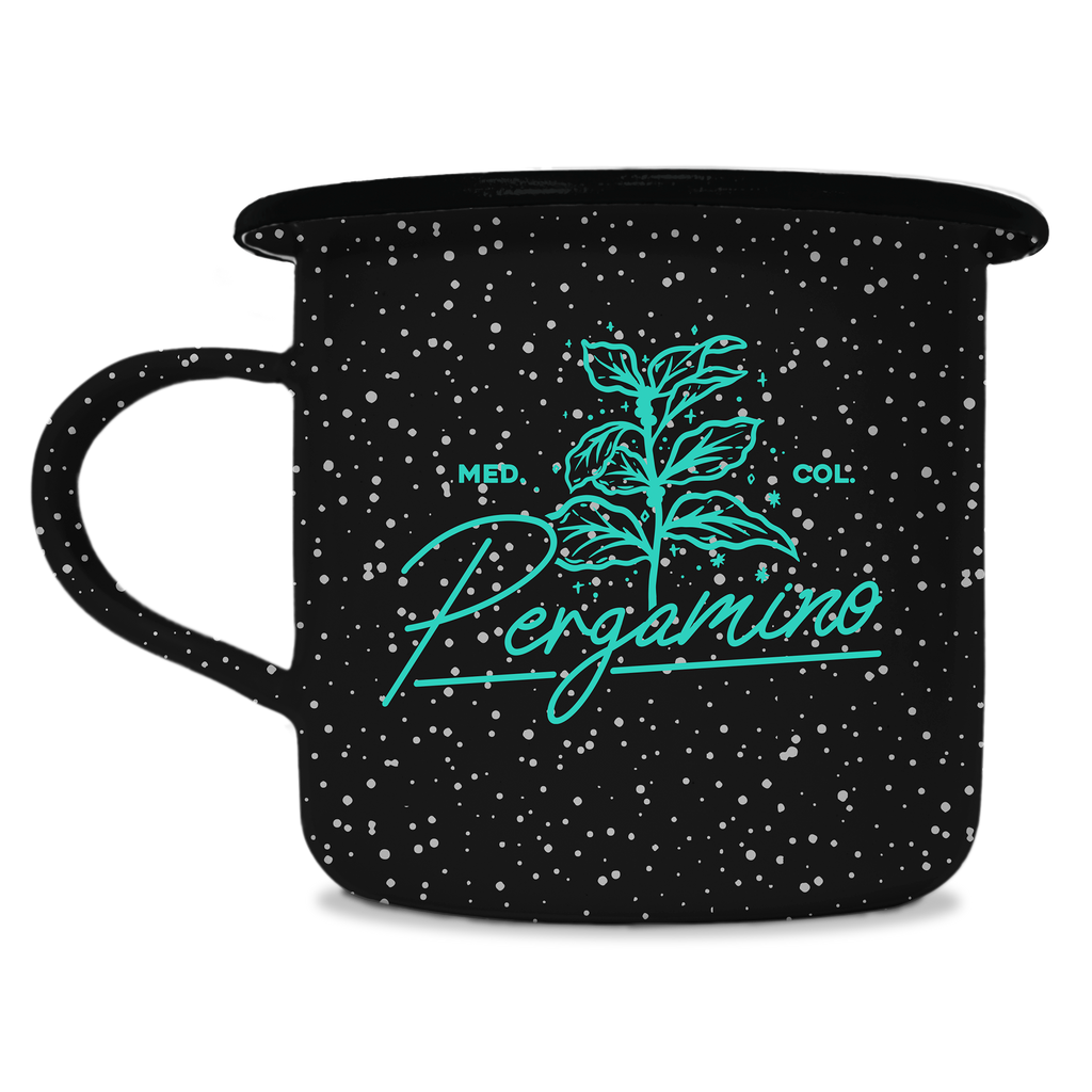 PERGAMINO Coffee Branch Camp Mug
