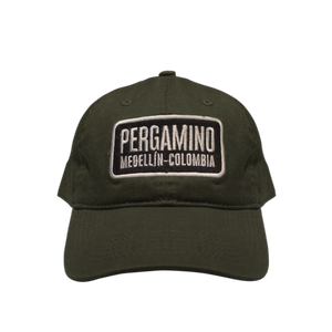 PERGAMINO Military Green Baseball Cap