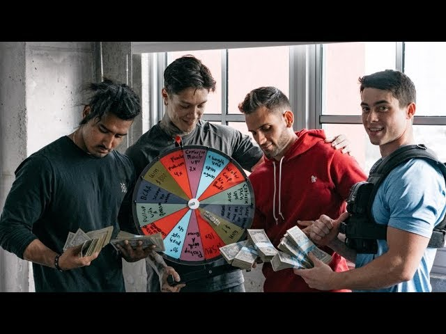 SPIN TO WIN $1000 OR... (THENX TEAM CHALLENGE)