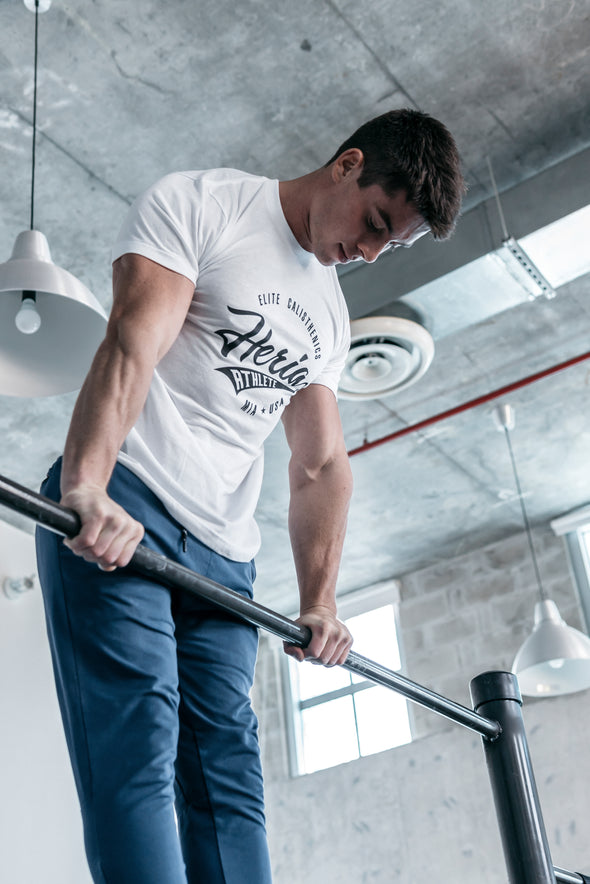 Elite Calisthenics White T-Shirt