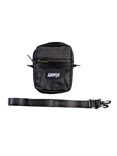 Heria Shoulder Bag - Black