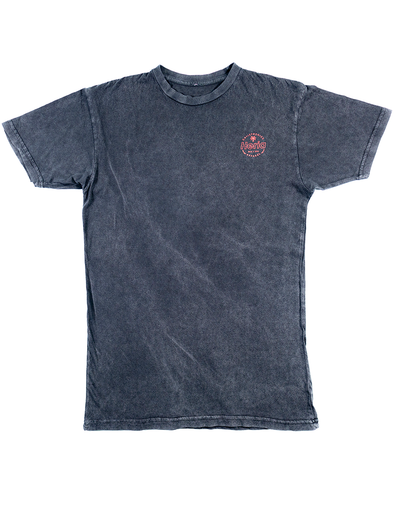 Acid Wash Black T-Shirt