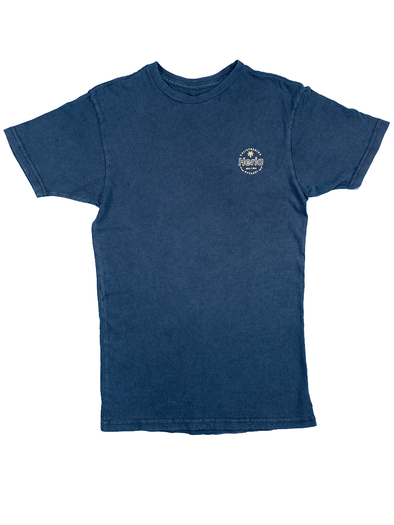 Acid Wash Navy T-Shirt (4373760966698)
