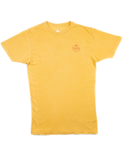 Acid Wash Yellow T-Shirt