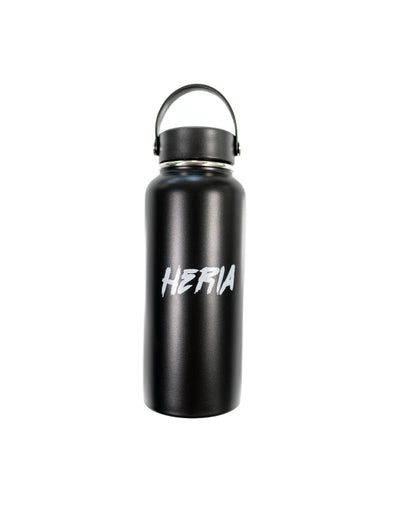 Heria Water Bottle - Black