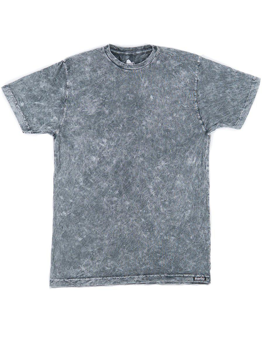 <i><strong>Heria</strong></i> | Acid Wash Grey T-Shirt