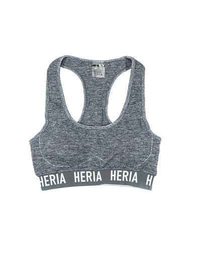 Heria Women's Grey Sports Bra