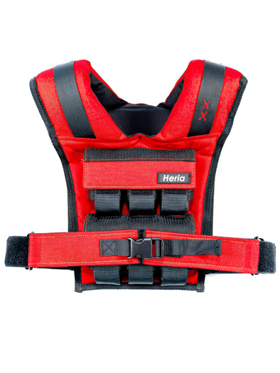 28LB Weight Vest - Red