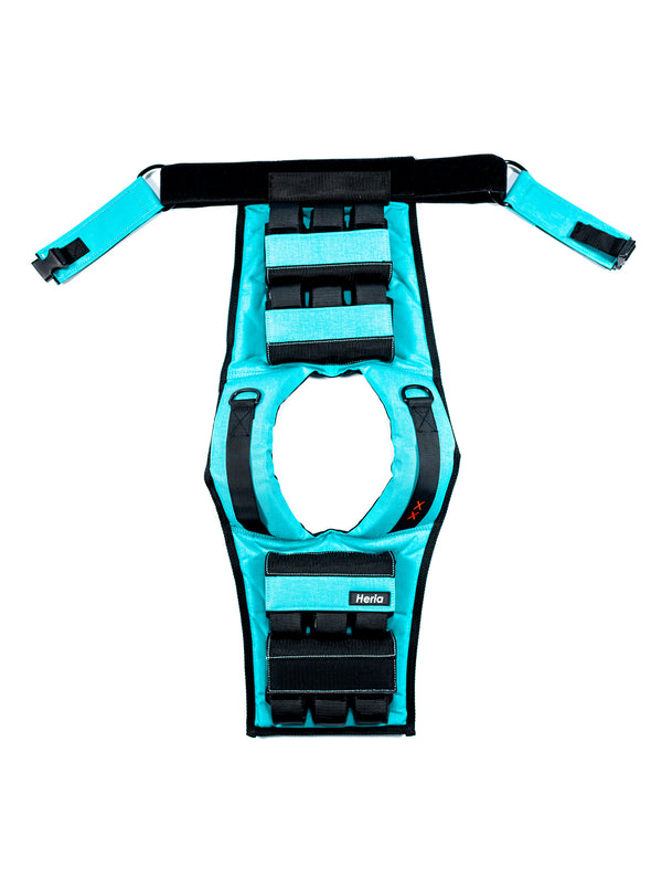 28LB Weight Vest - Teal (4408269701162)