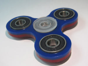 FREE SPINNER RED/BLUE 2 COLOR COMBO