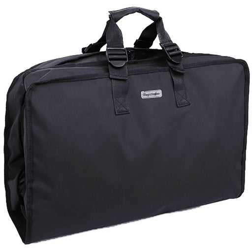 Solid Black Garment Bag - jenzys.com