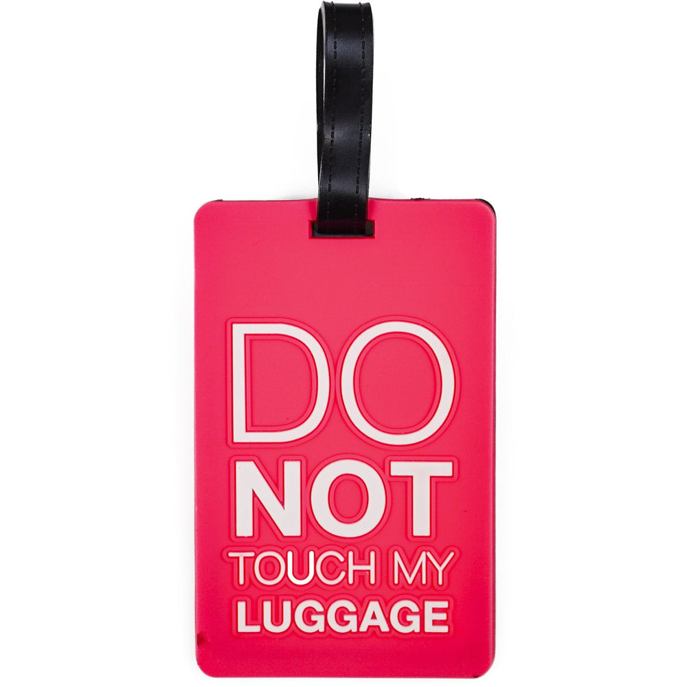 Do Not Touch My Luggage Tag - jenzys.com