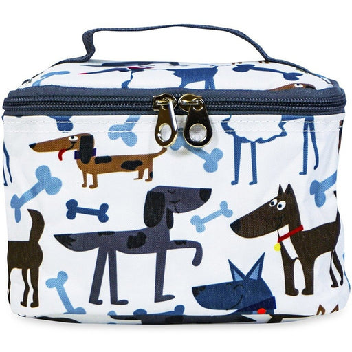 Jenzys Dogs & Bones Cosmetic Makeup Case
