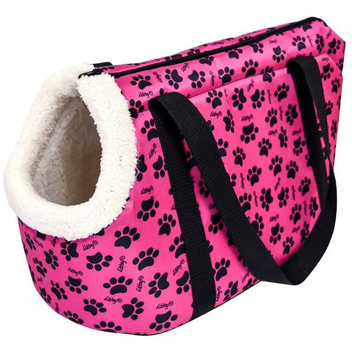 Paw Print Pet Carrier - jenzys.com