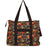 Jenzys Ethnic Jungle Shopping Tote Bag - jenzys.com