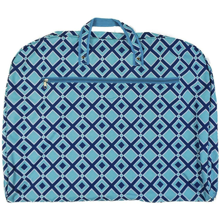 Diamond Print Hanging Garment Bag - jenzys.com