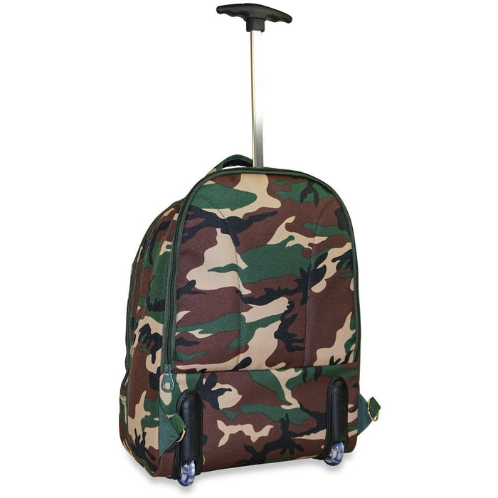 Ever Moda Camo Laptop Backpack - jenzys.com