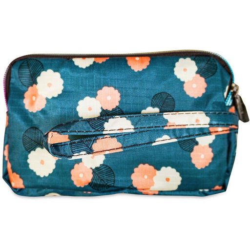 Floral Triple Zipper Wallet - jenzys.com