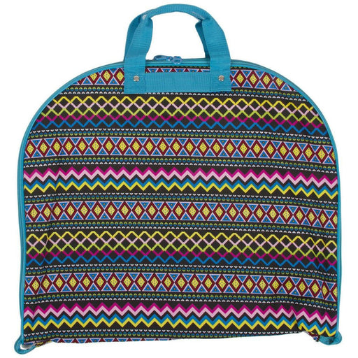 Ever Moda Aztec Hanging Garment Bag - jenzys.com