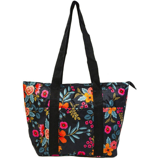 Floral Reusable Lunch Tote Bag
