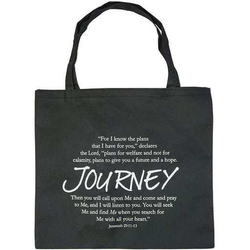 Religious Spiritual Quote Inspiration Tote Bag Know the Plan I have ... Bible - jenzys.com