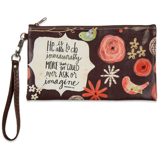 Quote Makeup Wristlet Bag - jenzys.com