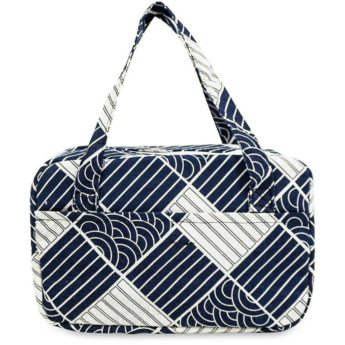 Geometric Thermal Reusable Lunch Tote Bag - jenzys.com