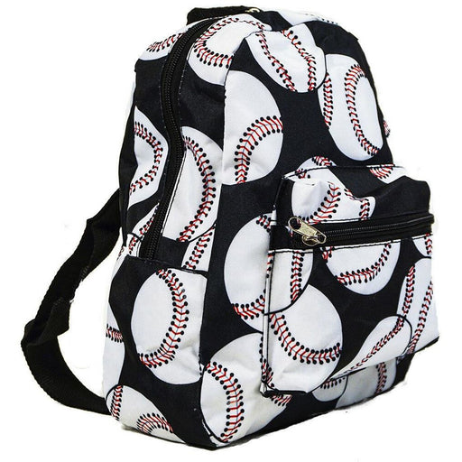 Baseball Toddler Backpack - jenzys.com