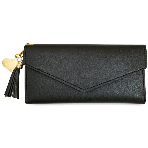 Flap Over Leather Wallet - jenzys.com