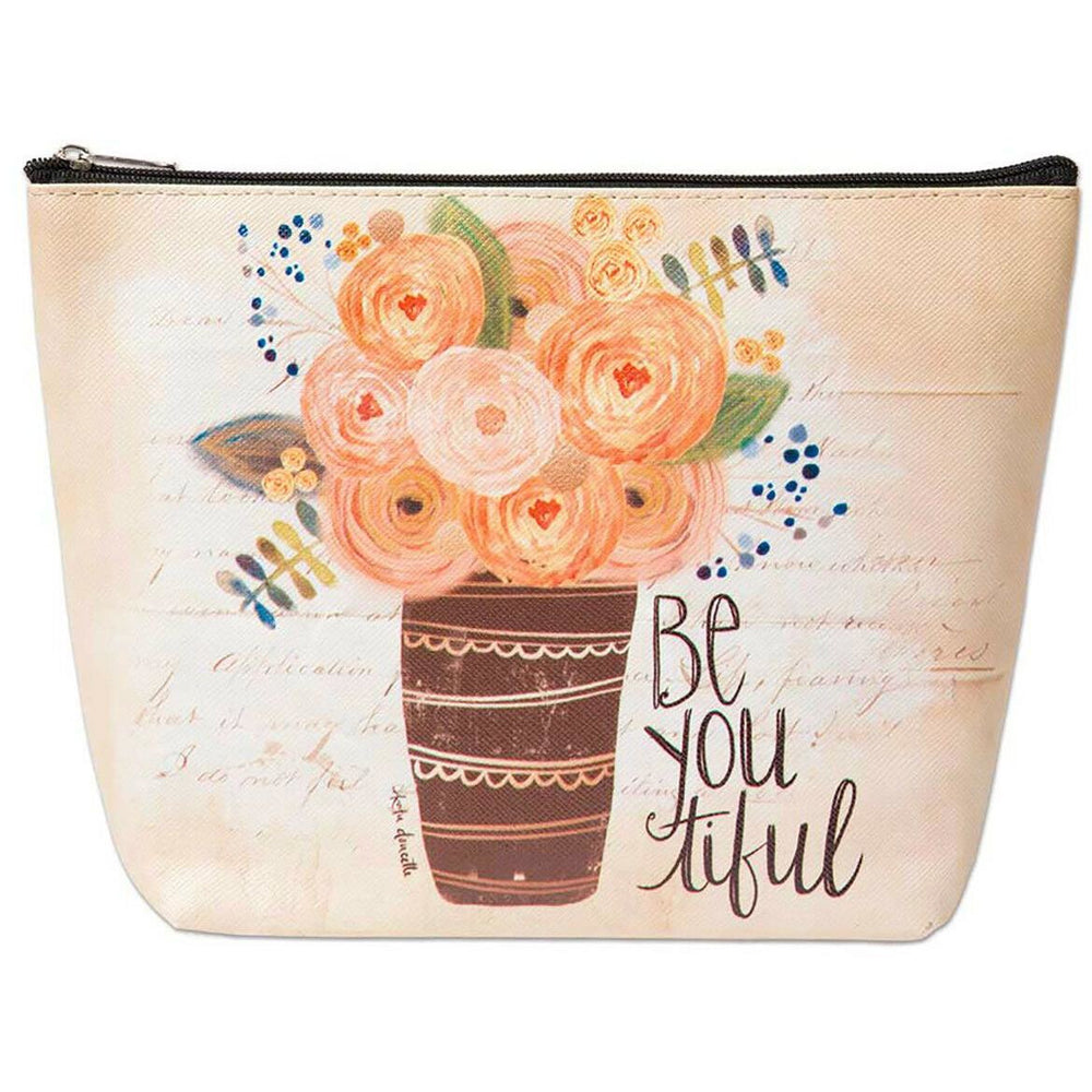 Floral Cosmetic Bag - jenzys.com