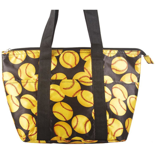 Softball Insulated Lunch Bag - jenzys.com