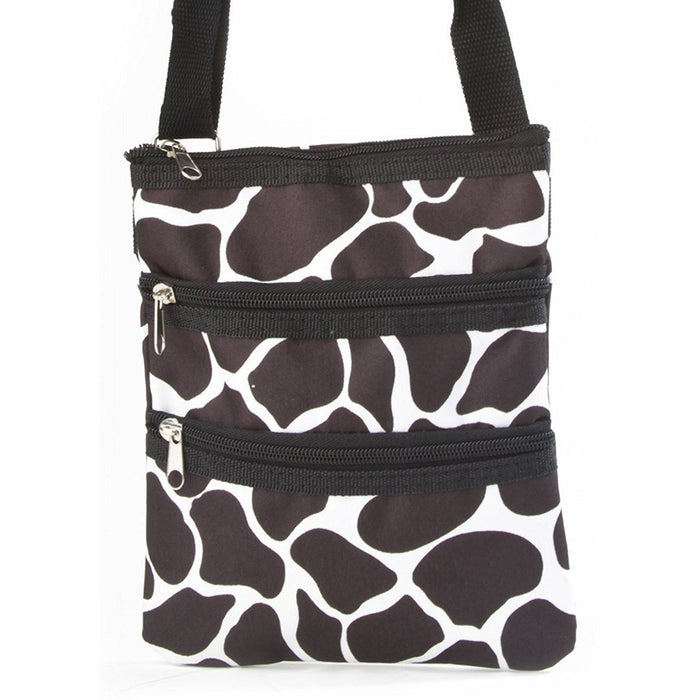 Giraffe Print Cross-Body Bag - jenzys.com