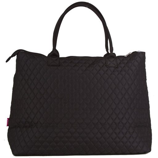 NGIL Solid Quilted Tote Bag