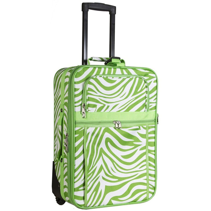 Green Zebra Carry On - jenzys.com