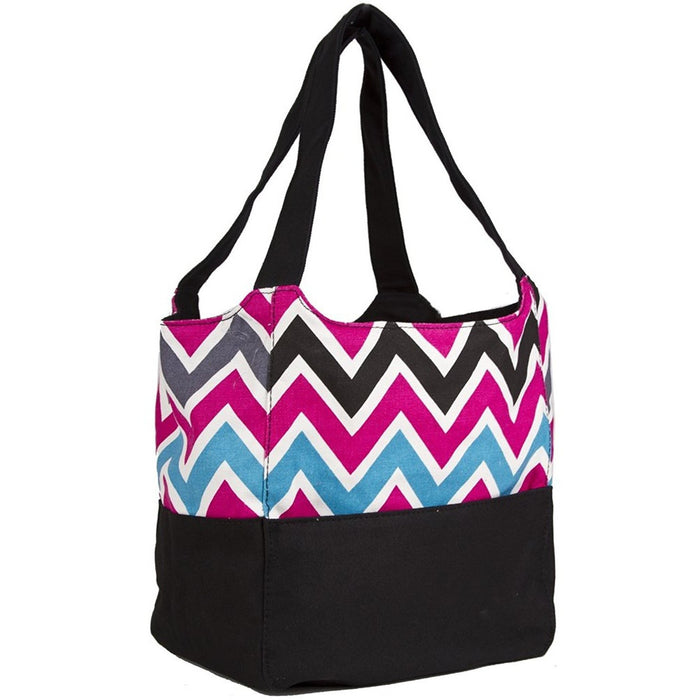 Ever Moda Chevron Hobo Tote Bag - jenzys.com