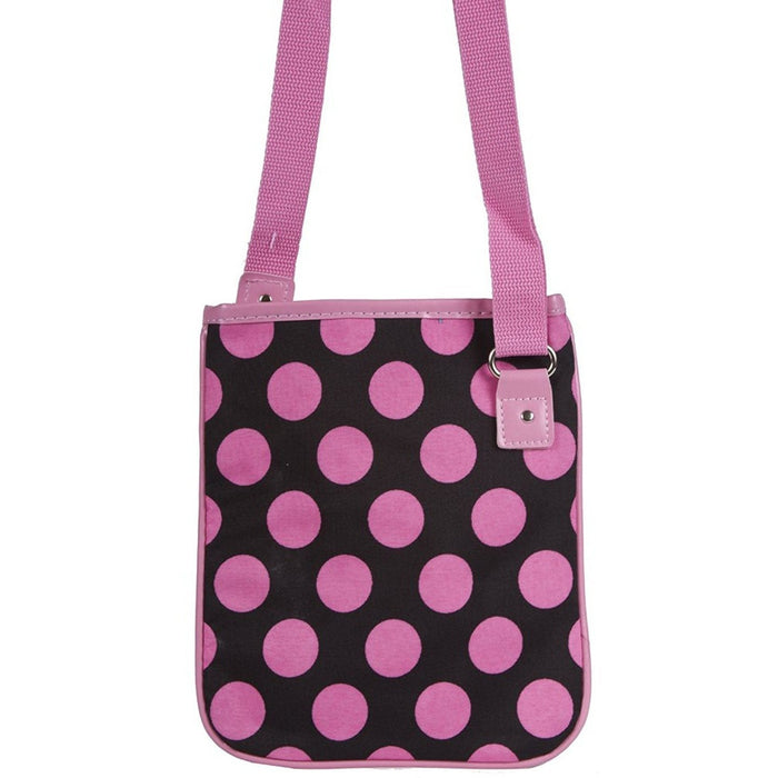 Ever Moda Polka Dot Cross-body Bag