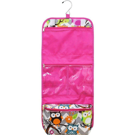 NGIL Owl Print Toiletry Bag - jenzys.com