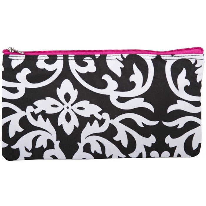 Damask Pencil Makeup Bag