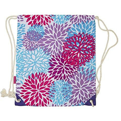 Ever Moda Floral Drawstring Backpack - jenzys.com
