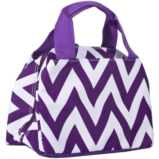 Ever Moda Chevron Lunch Tote Bag - jenzys.com
