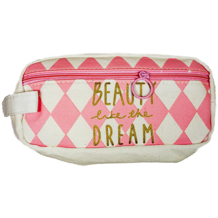 Beauty Like The Dream Travel Makeup Bag - jenzys.com