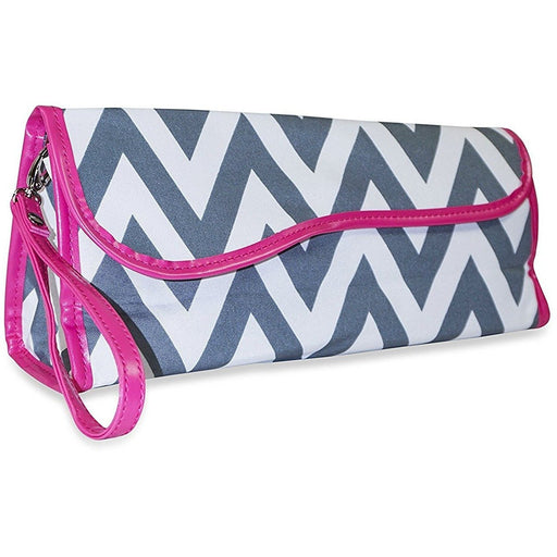 Ever Moda Chevron Flat Iron Travel Case - jenzys.com