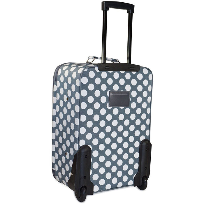 Polka Dot Luggage Set - jenzys.com