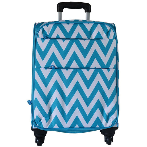 Ever Moda Chevron 360 Spinner Carry On
