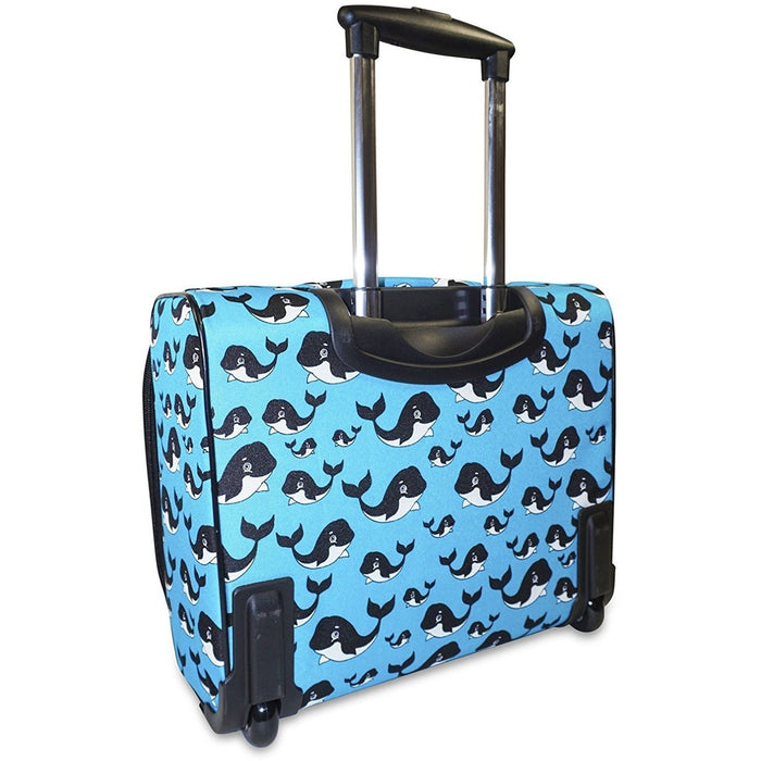 Ever Moda Whale Rolling Laptop Case - jenzys.com